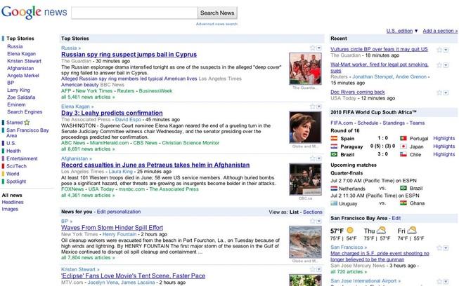 Người đọc tin Google News hơn báo chính thống