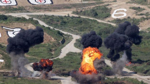 Triều Tiên đe dọa tấn công hạt nhân phủ đầu