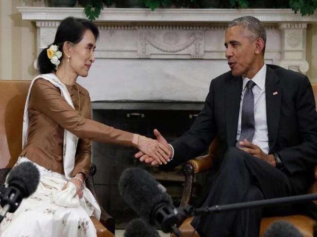 Tổng thống Obama chính thức dỡ bỏ trừng phạt Myanmar
