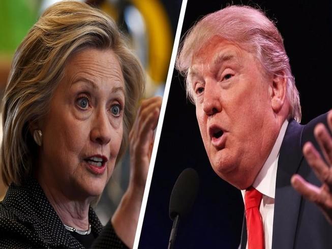 Tỉ lệ ủng hộ ông Trump đã sát nút bà Clinton