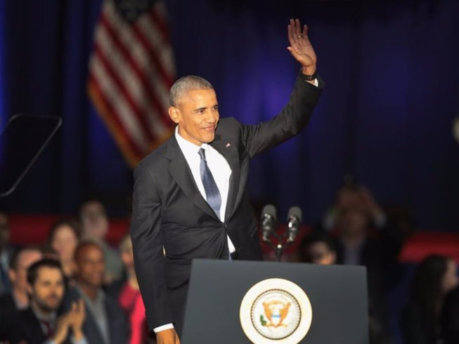 Obama: Mọi người có thể gọi tôi là tổng thống vịt què!