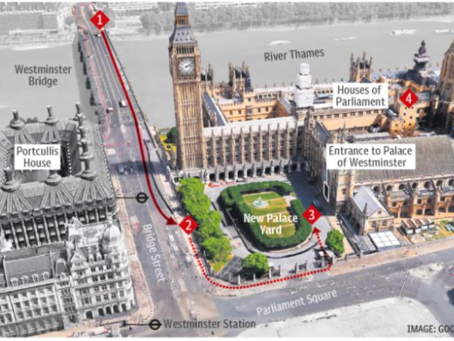 Nhân chứng kể lại vụ tấn công trước Quốc hội Anh