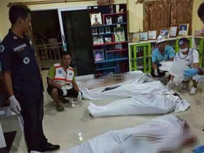 Thái Lan: 8 người cùng gia đình bị xả súng bắn chết