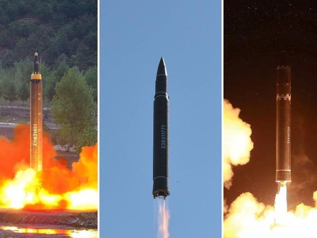 Mỹ-Nhật-Hàn tập trận truy tìm tên lửa