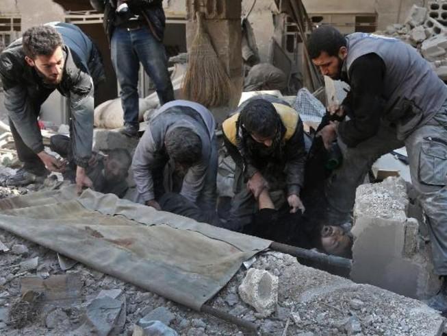 Syria: Thương vong quá nhiều, bác sĩ dùng thuốc hết hạn