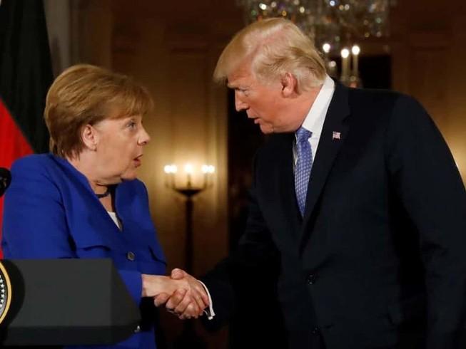 Bà Merkel cũng không thuyết phục được ông Trump