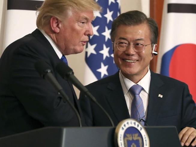 Ông Trump nói đã xác định được ngày, địa điểm gặp ông Kim