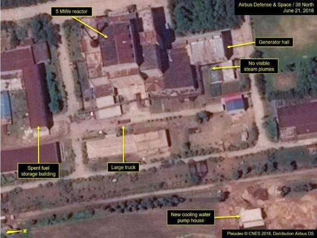 Ảnh vệ tinh cho thấy Triều Tiên nâng cấp cơ sở hạt nhân
