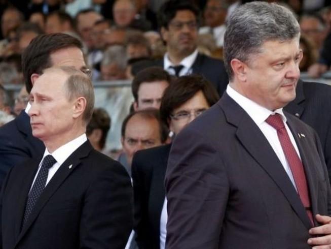 Ông Poroshenko nói ông Putin từ chối nói chuyện về Ukraine