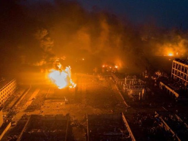Nổ nhà máy hóa chất TQ: 47 người chết, 640 người bị thương