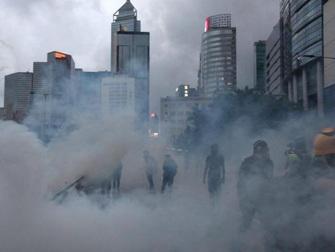 Tân Hoa xã nói gì về 'cách mạng màu' Hong Kong?