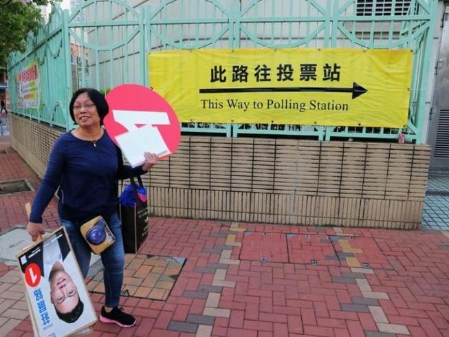 Dân Hong Kong bắt đầu đi bỏ phiếu bầu cử địa phương