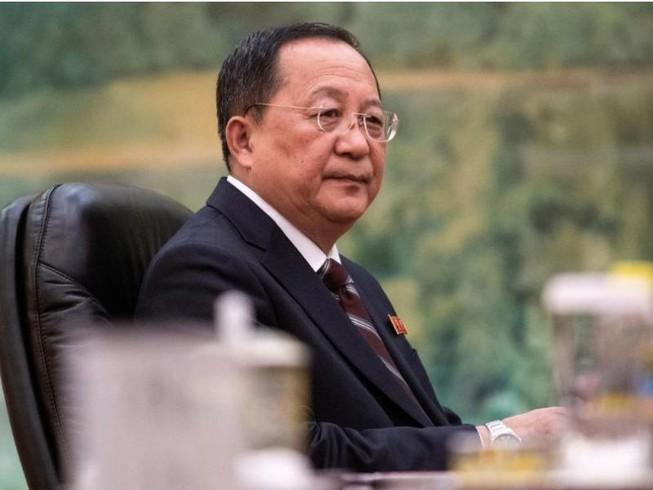 riều Tiên vừa thay vị trí Bộ trưởng Ngoại giao Triều Tiên của ông Ri Yong-ho (ảnh). Ảnh: REUTERS