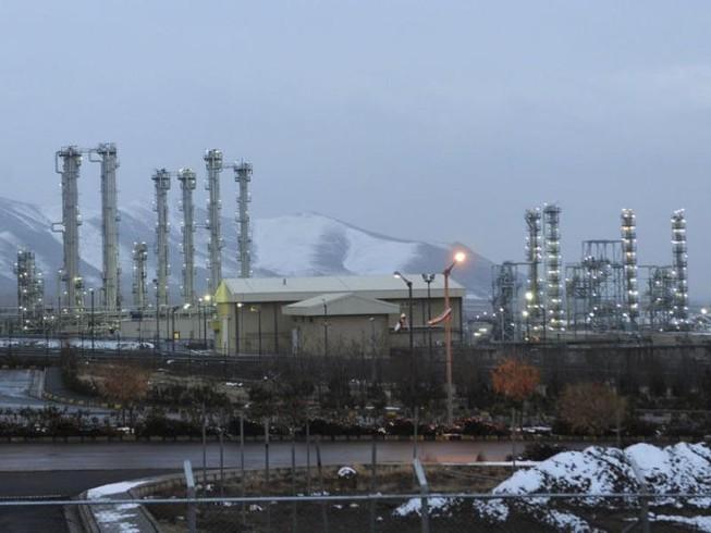 Nhà máy nước nặng hạt nhân gần TP Arak, tỉnh Markazi (Iran). Ảnh: AP