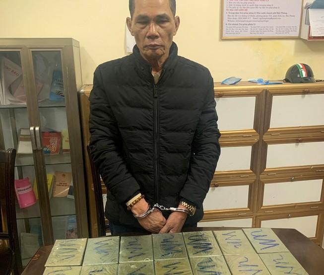 Bắt nhóm người cùng 44 bánh heroin tại khách sạn ở Hải Phòng