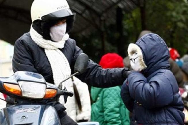 Học sinh Hà Nội được nghỉ học vì trời quá lạnh