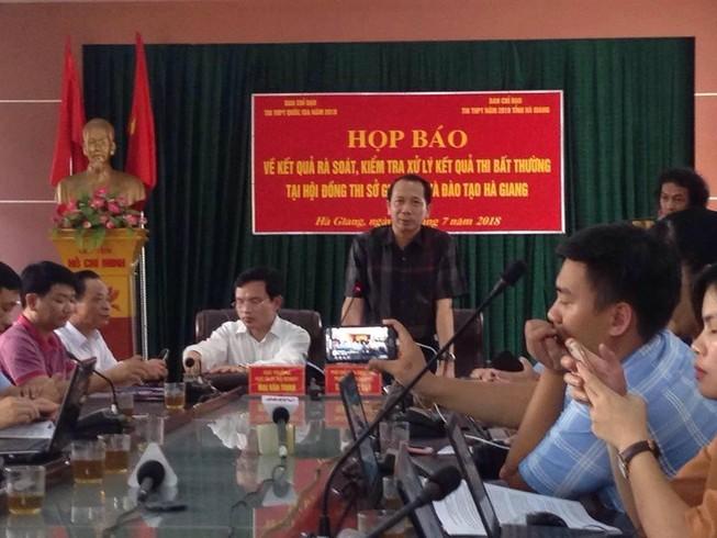 Điểm thi tại Hà Giang được nâng khống tinh vi ra sao?