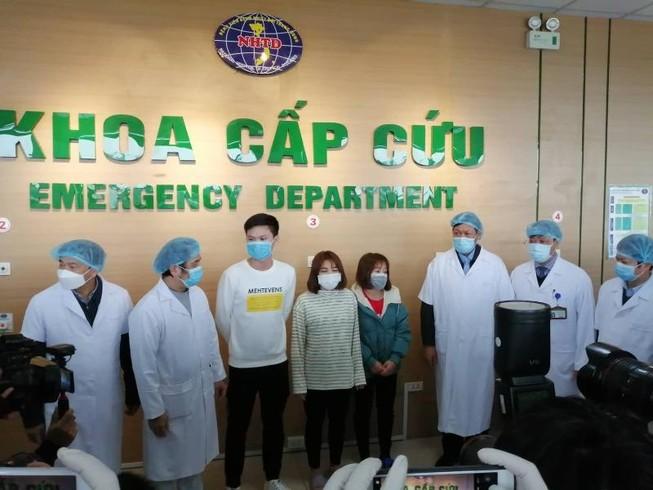 Việt Nam có thêm 3 bệnh nhân Corona xuất viện