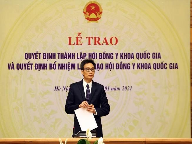 Ra mắt Hội đồng y khoa quốc gia đầu tiên của Việt Nam
