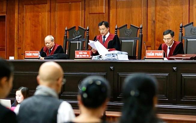 Tòa phúc thẩm bác kháng cáo cả ông Vũ lẫn bà Thảo