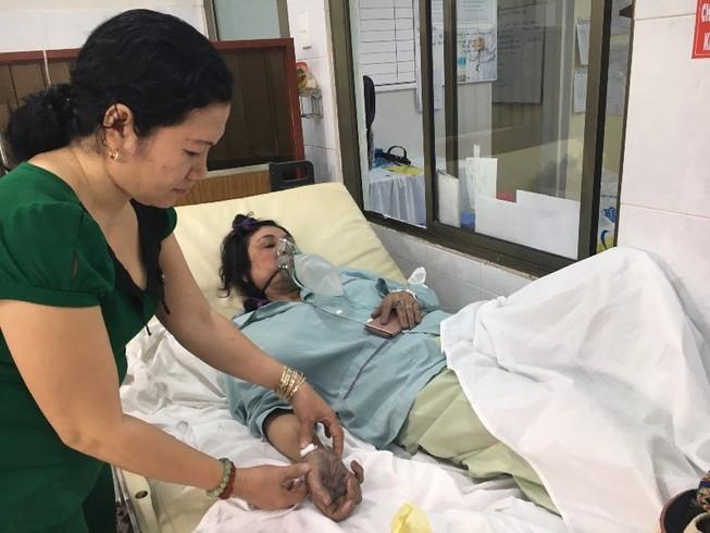 Tình hình các bệnh nhân sau 10 ngày cháy Carina
