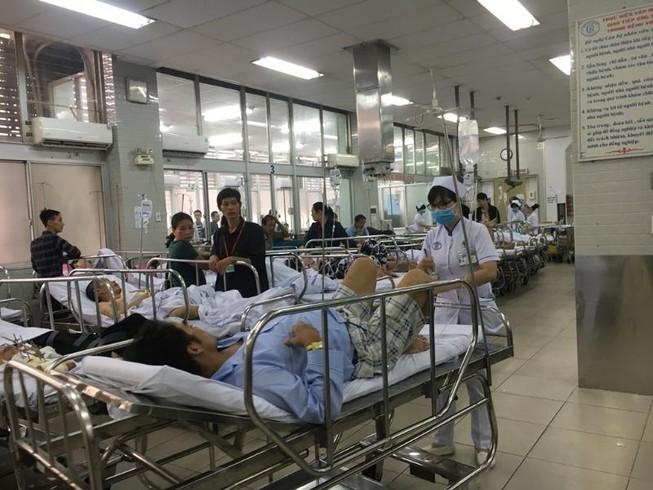 'Ma men' bị tai nạn giao thông nhập viện ngủ mê tít thò lò