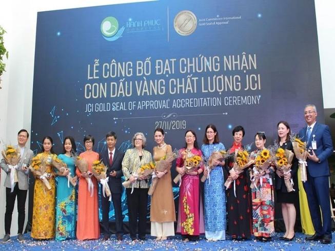 Bệnh viện sản-nhi đầu tiên tại Việt Nam đạt chứng nhận JCI