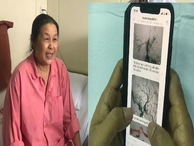 Bác sĩ trao đổi qua viber cấp cứu thần tốc bệnh nhân đột quỵ