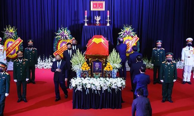 Hàng ngàn người thương tiếc ông Trương Vĩnh Trọng