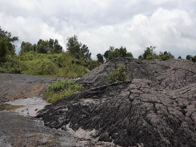 Vụ đổ chất thải trái phép: Đề nghị xử phạt 8-12 triệu đồng