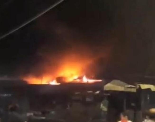 Điều tra nguyên nhân vụ cháy tại chợ Bình Long