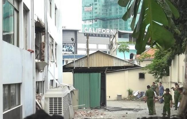 Công an thông tin vụ nổ tại Cục Thuế tỉnh Bình Dương