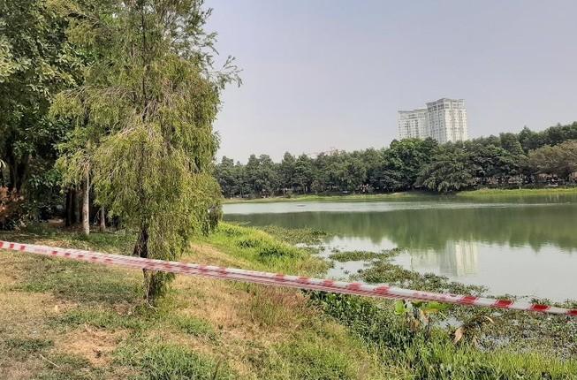 Bình Dương: 2 người mất tích ở hồ nước trong công viên