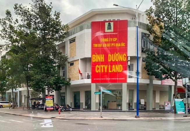 Công ty Bình Dương CityLand bị công an khám xét trong đêm