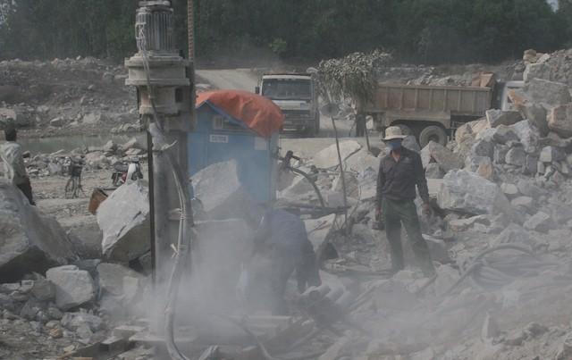 Chấm dứt hoạt động mỏ đá 'uy hiếp' khu đô thị Phước Lý