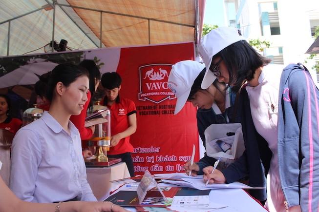 5.000 học sinh tìm kiếm nghề nghiệp trong tương lai