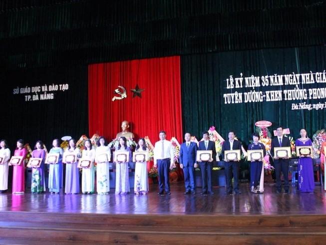 Đà Nẵng: 6 Nhà giáo ưu tú được Thủ tướng vinh danh