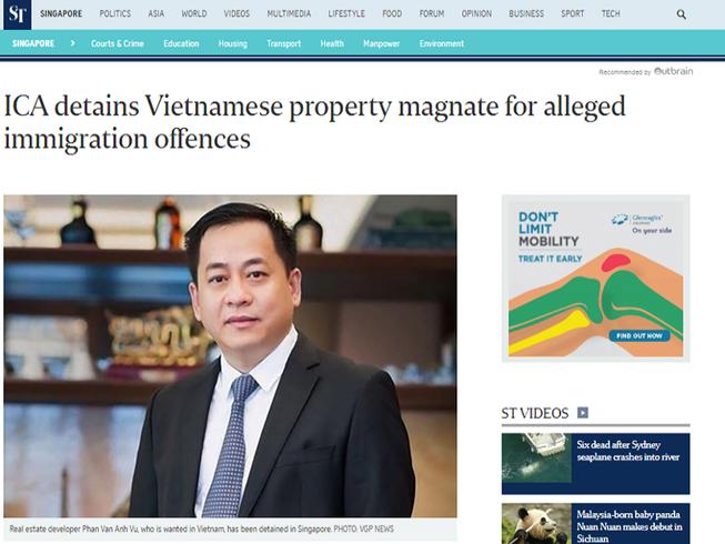 'Nếu Vũ 'nhôm' ở Singapore, phải đưa bằng được về nước'