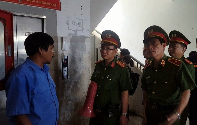 Bộ Công an kiểm tra PCCC các chung cư ở Đà Nẵng