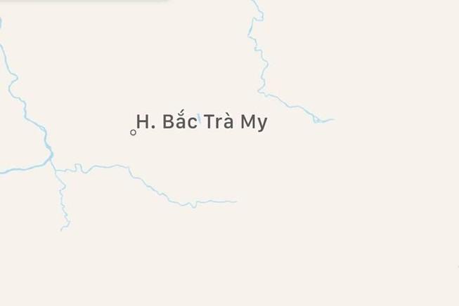 Chưa đầy nửa giờ, Quảng Nam chịu 2 trận động đất