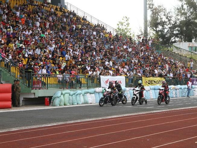 Mãn nhãn giải mô tô cúp quốc gia năm 2018 ở Cần Thơ