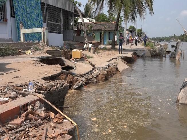 Hồ chứa thượng nguồn Mekong gây xói lở nghiêm trọng ĐBSCL