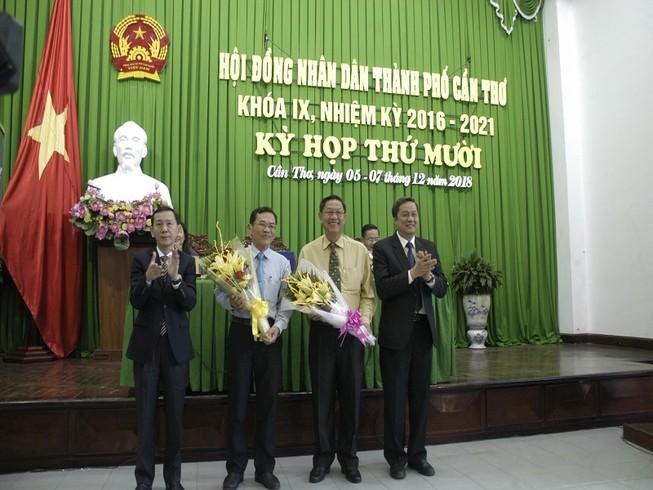 Cần Thơ miễn nhiệm 1 phó chủ tịch, 2 ủy viên UBND