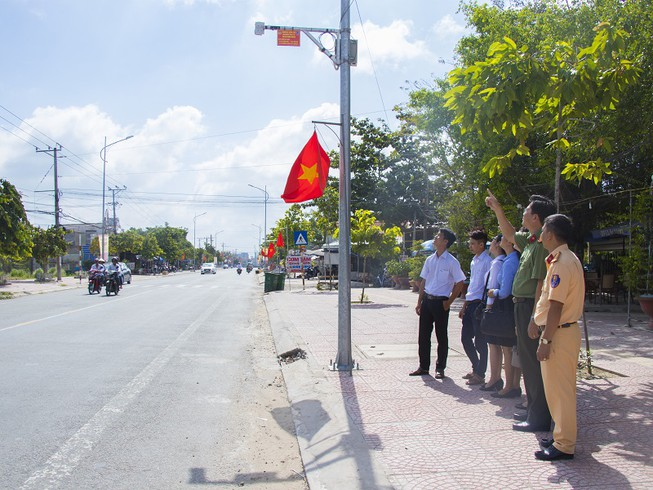 Vĩnh Long bổ sung 114 camera giám sát an ninh, giao thông