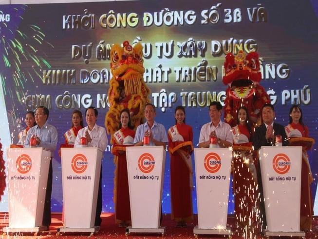 Khởi công cụm công nghiệp 1.000 tỉ đồng ở Hậu Giang