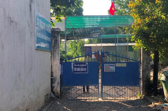 Trường THPT Vĩnh Xương, nơi xảy ra sự việc. Ảnh: Zing