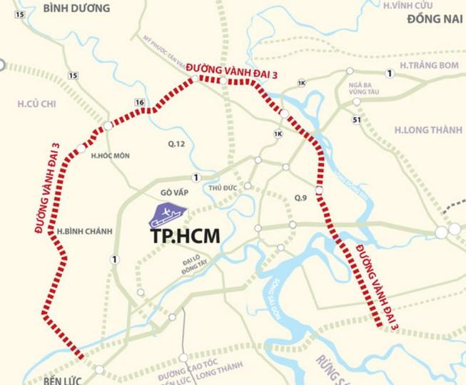 Gấp rút xây dựng đường vành đai 3 TP.HCM