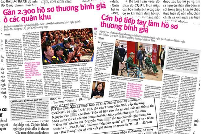 Đề nghị thu hồi nhiều hồ sơ thương binh giả ở Hà Nội