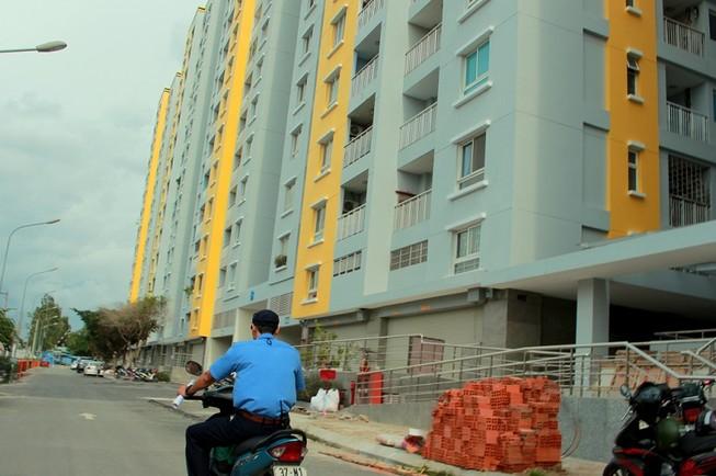 Những hạng mục đã sửa xong ở chung cư Carina