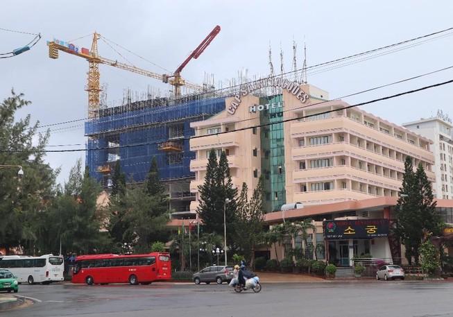 Xử phạt DIC Corp gần 1 tỉ vì xây không giấy phép, vượt 6 tầng